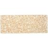 Swarovski Crystal Rock Rectang 63.5x25mm Goldenshadow Crystal